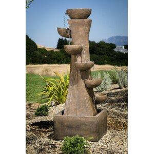 Polystone Portofino Zen Fountain
