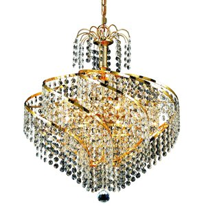 Mathilde 8-Light Crystal Chandelier