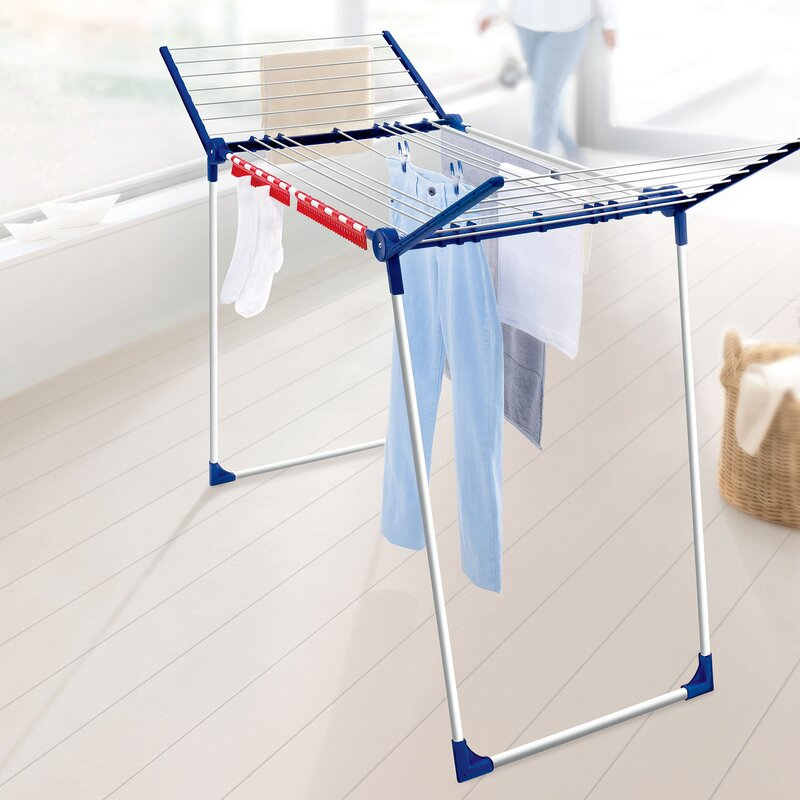 LEIFHEIT Varioline M Deluxe Winged Clothes Drying Rack with ...
