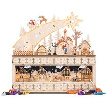 Traditional Christmas Advent Calendar Famous Monuments /& Buildings Exclusive