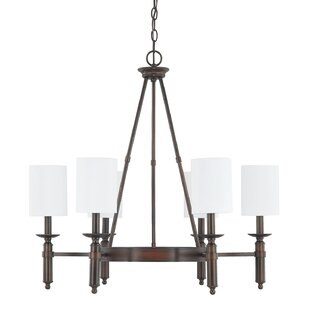 Laurel Foundry Modern Farmhouse Bonneau 6-Light Shaded Chandelier