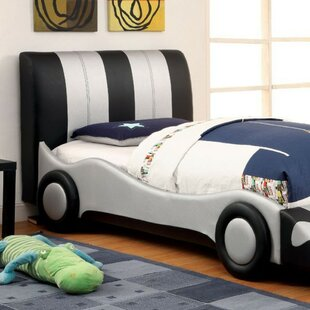 Check Prices Neary Padded Leatherette Upholstered Panel Bed by Zoomie Kids Reviews (2019) & Buyer's Guide