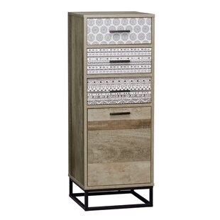 Manzelli 3 Drawer Combi Chest By World Menagerie