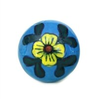 Flower Ceramic Mushroom Knob