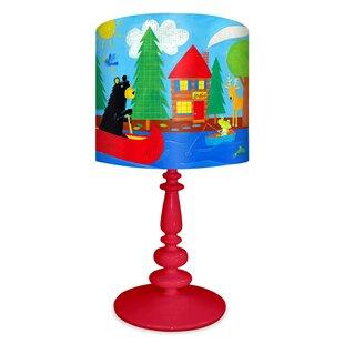 Black Bear Lodge 21 Table Lamp