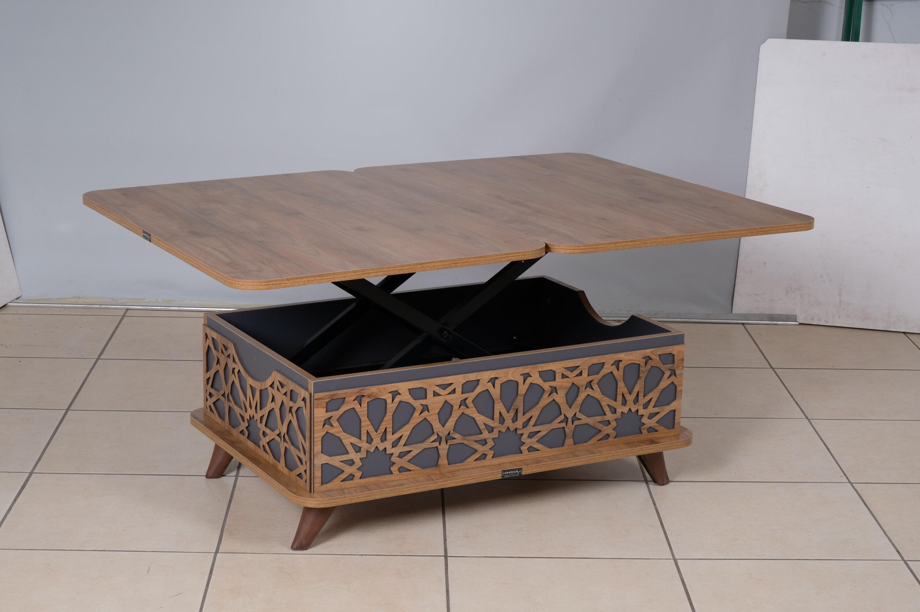Bungalow Rose Nezperce Lift Top Extendable Coffee Table Wayfair