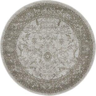 Shailene Light Gray Area Rug by Mistana