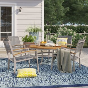 Caspian 5 Piece Conversation Set with Cushions