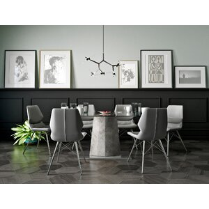 Anastasia Contemporary 7 Piece Dining Set