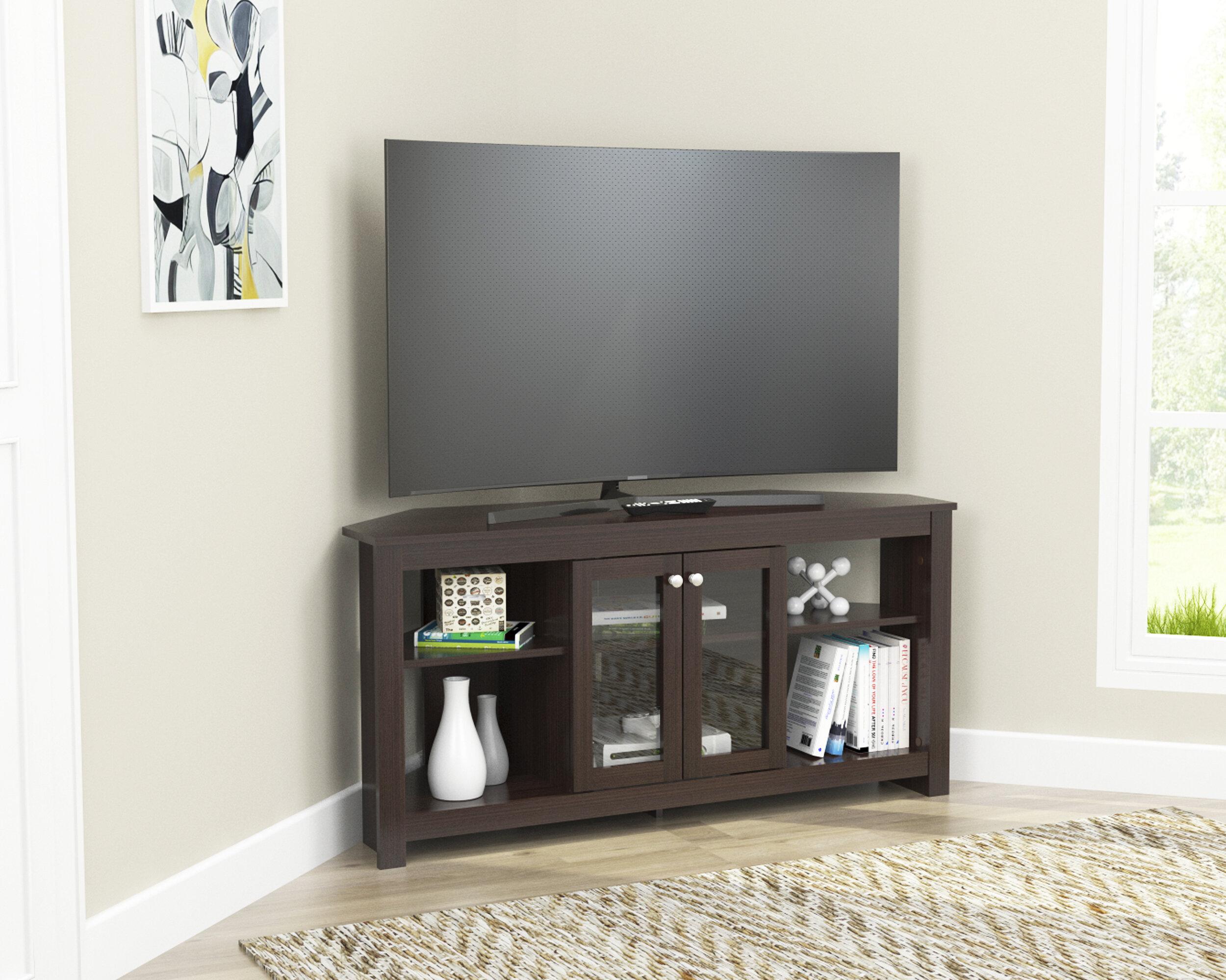 "Winston Porter Wisser Corner TV Stand for TVs up to 60"" & Reviews"