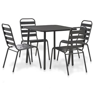 Fosdick 4 Seater Dining Set By Sol 72 Outdoor