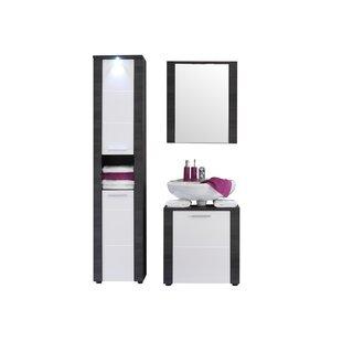 Rohrbach 3 Piece Bathroom Furniture Set By Mercury Row