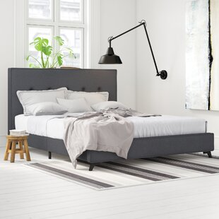 Ambassador Upholstered Bed Frame By Mercury Row