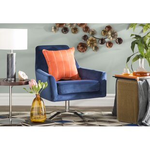 Wade Logan Edmund Swivel Armchair