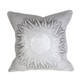 Patina Vie Soleil 100% Cotton Throw Pillow