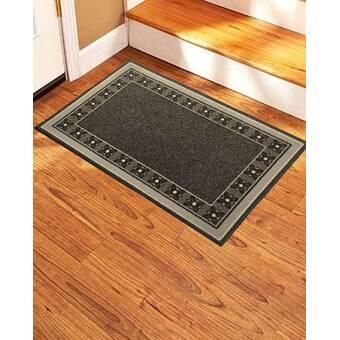 Waverly Fancy And Free 30 In X 18 In Non Slip Indoor Door Mat Reviews Wayfair