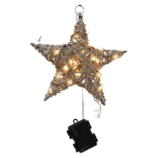 outdoor led twig star ornament accessory