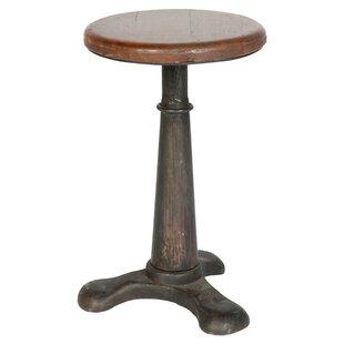 Brunel End Table by Bois et Cuir