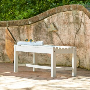 Outdoor Plastic Picnic Bench by Shine Company Inc.