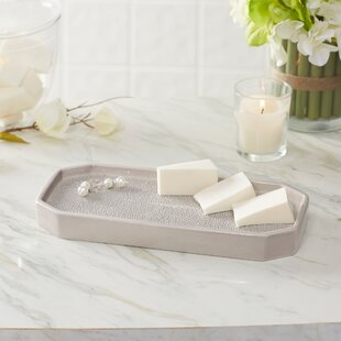 Good Hewitt Porcelain Bathroom Accessory Tray