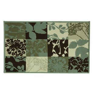 Compare Elegance Crestwood Looped/Hooked Cotton Blue/Beige/Black Area Rug ByBacova Guild