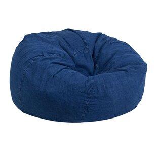 Bedroom Cotton Bean Bag Chair
