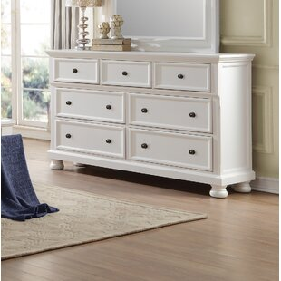 Charlton Home Ulverst 7 Drawer Double Dre..
