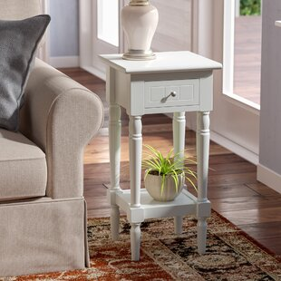 Parque End Table With Storage