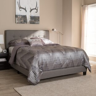 Preusser Modern Upholstered Panel Bed by Winston Porter
