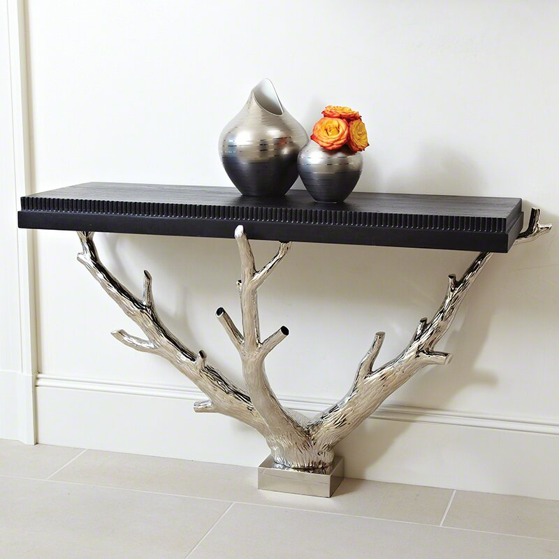 Wall Console Table global views branch wall console table | wayfair