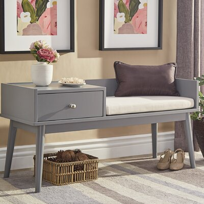 Drawer Equipped Storage Benches You Ll Love Wayfair