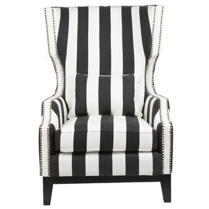 Cairns Stripped Wingback Chair