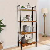 Gandy 54'' H x 22'' W Etagere Bookcase by 17 Stories