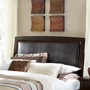Bertram Upholstered Panel Headboard by Darby Home Co