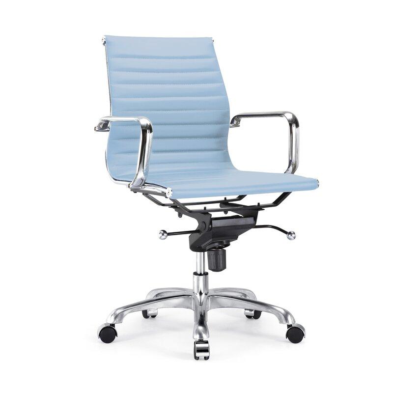 classic office chair. Pollak Modern Classic Aluminum Office Chair