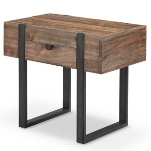 Compare prices Sharri Modern End Table by Union Rustic
