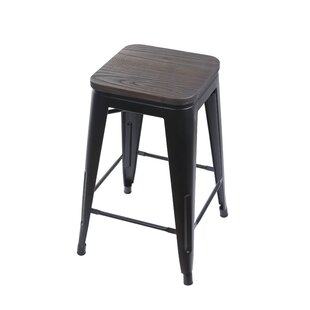 Buy clear Warwickshire Tolix 24 Bar Stool by Williston Forge Reviews (2019) & Buyer's Guide