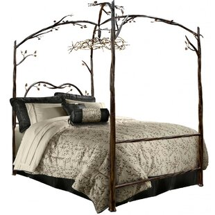 Fleur De Lis Living Churchman Queen Canopy Bed