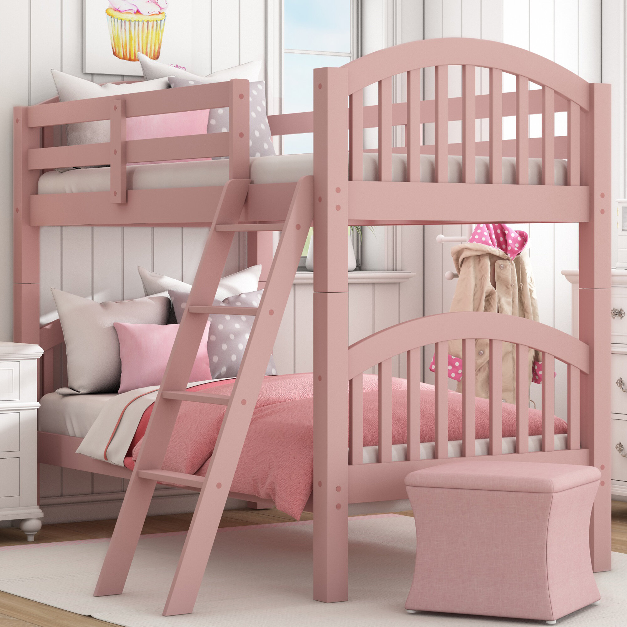Picture of: Viv Rae Susie Twin Over Twin Bunk Bed Reviews
