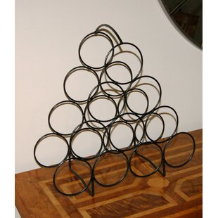 Pyramid 10 Bottle Tabletop Wine Rack By Symple Stuff