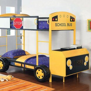 Worrell Twin Over Twin Bunk Bed by Zoomie Kids #1