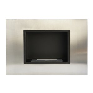 Wall Mount Ethanol Fireplace by Utopia Alley