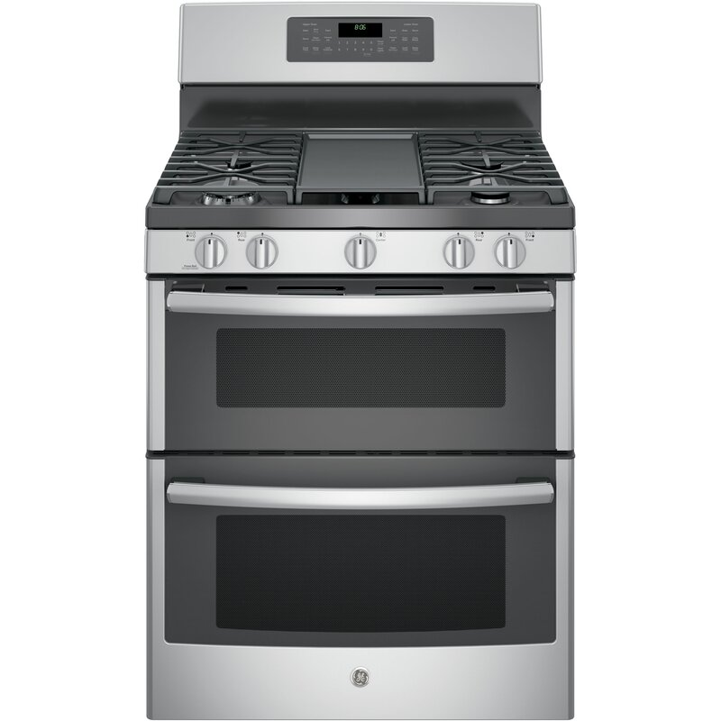 Astonishing 30 6 8 Cu Ft Free Standing Gas Range With Griddle Home Interior And Landscaping Ponolsignezvosmurscom