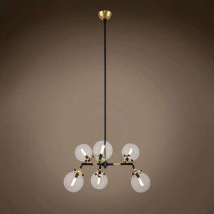 Brayden Studio Chairez 6-Light Chandelier