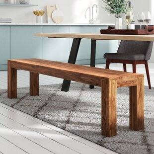 Mumbai Wood Dining Bench By Union Rustic