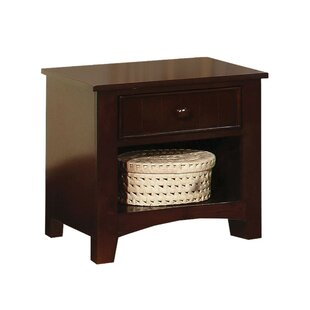Deals Reaves 1 Drawer Nightstand by Charlton Home