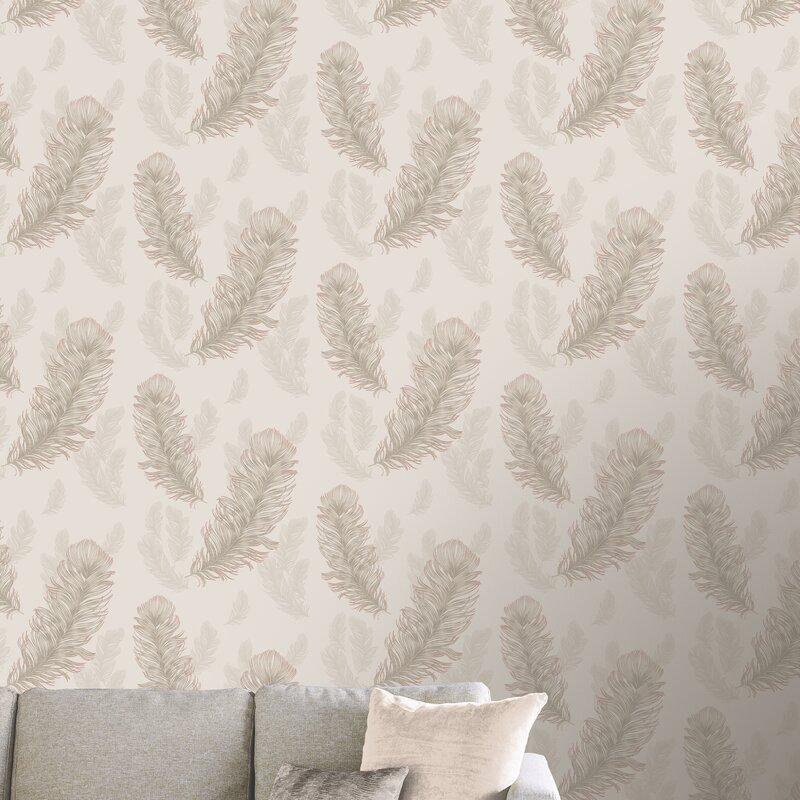 Arthouse Sirius Rose Gold 31 5 X 21 Wallpaper Roll Wayfair Ca