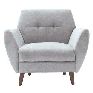 Amelie Mid-Century Modern Armchair by Elle Decor
