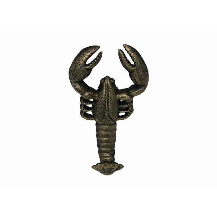 Cast Iron Nautical Crab Hook