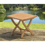 Shayna Folding Wooden Side Table